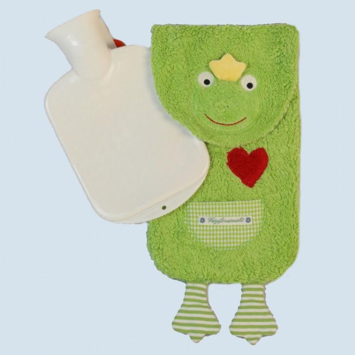 Pat & Patty Wärmflasche für Kinder - Frosch - Baumwolle, Bio Qualität