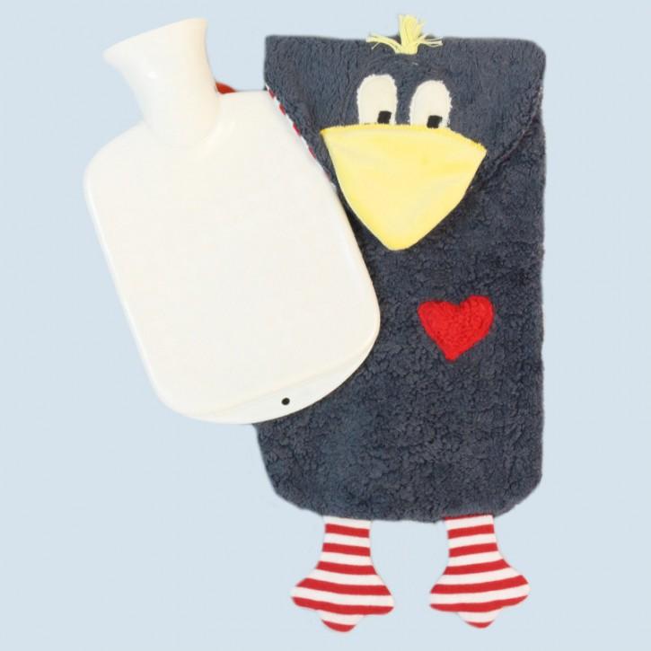 Pat & Patty Wärmflasche für Kinder - Rabe - Baumwolle, Bio Qualität