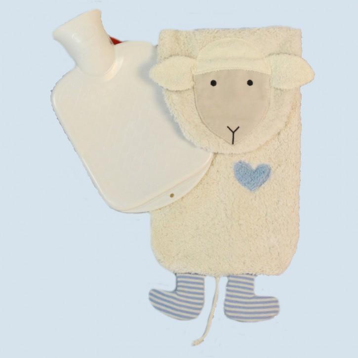 Pat & Patty Wärmflasche für Kinder - Schaf - Baumwolle, Bio Qualität