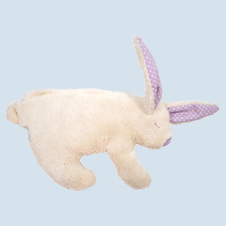 Pat & Patty Kirschkernkissen - Hase - flieder, Baumwolle Bio Qualität