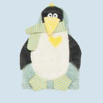 Pat & Patty Kirschkernkissen - Pinguin - Baumwolle Bio Qualität
