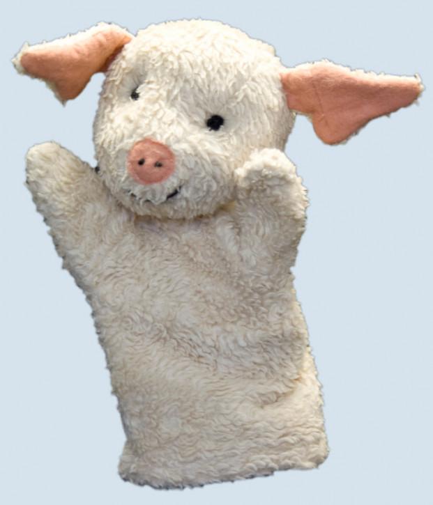 plue natur - hand puppet - pig - eco