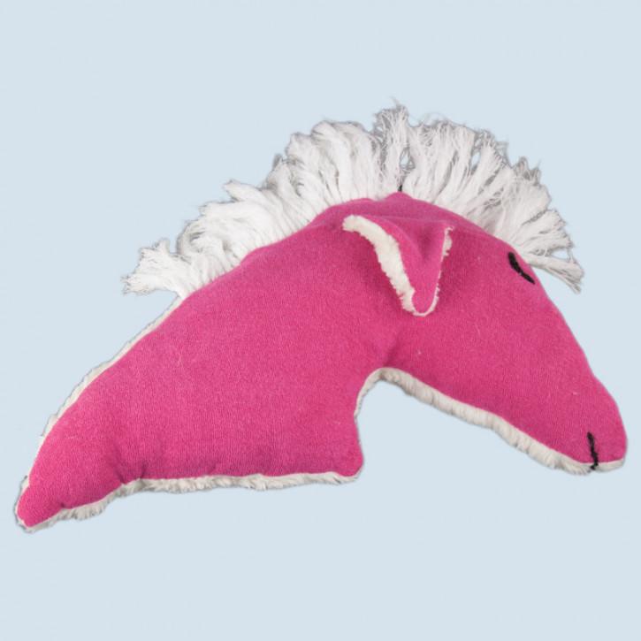 plü natur - Kuschelkissen Pferd - Baumwolle, Bio Qualität