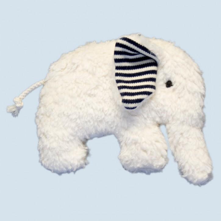 plue natur grabbing toy - elephant, blue, eco