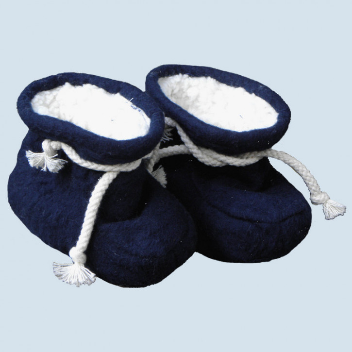 plue nature, baby shoes, blue - eco