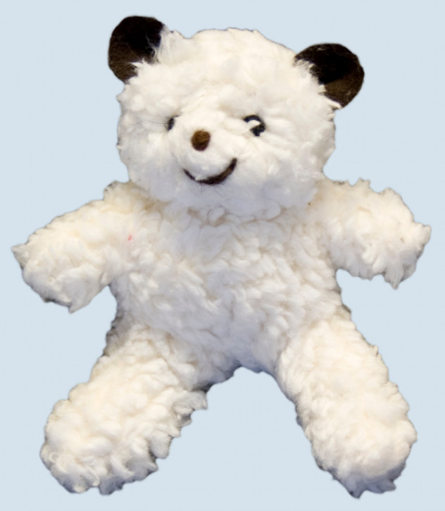 plü natur Greifling - Bär, Teddy - Bio Baumwolle, lachend