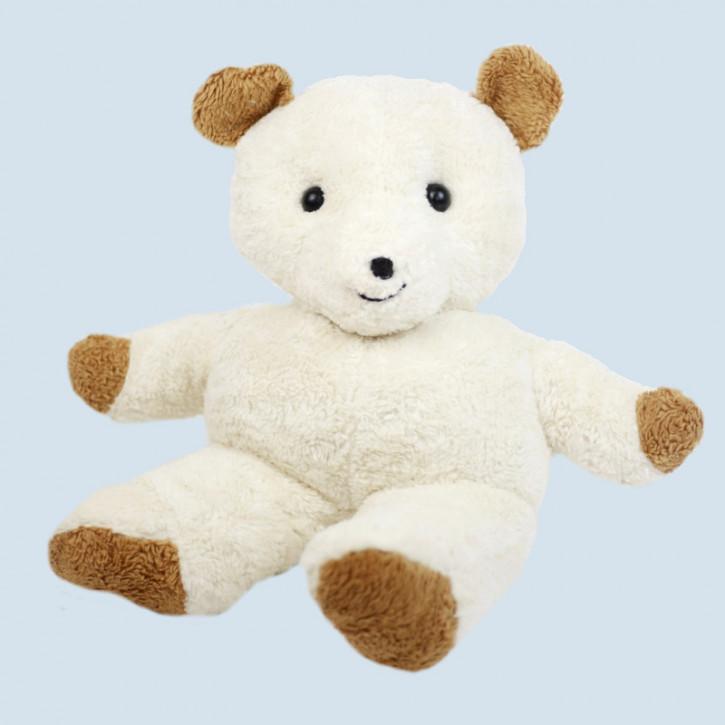 plü natur - Stofftier Bär, Teddy XXL - weiß, Bio Baumwolle, öko