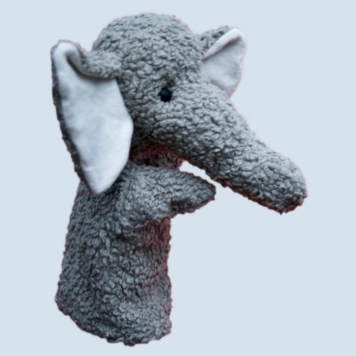 plue natur hand puppet, handdoll - elephant - eco