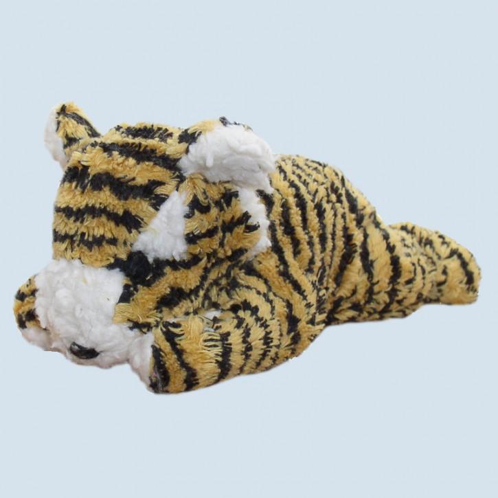 plü natur Spieluhr Tiger gelb weißt du wieviel Sternl., Bio Baumwolle