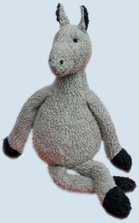 plue natur cuddly animal - donkey - grey, eco