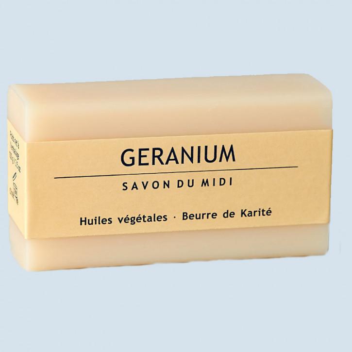 Savon du Midi Pflanzenseife - Geranium - Naturseife mit Sheabutter