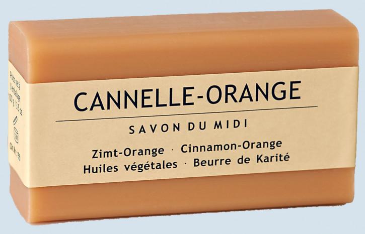 Savon du Midi Pflanzenseife - Zimt, Orange - Naturseife mit Sheabutter
