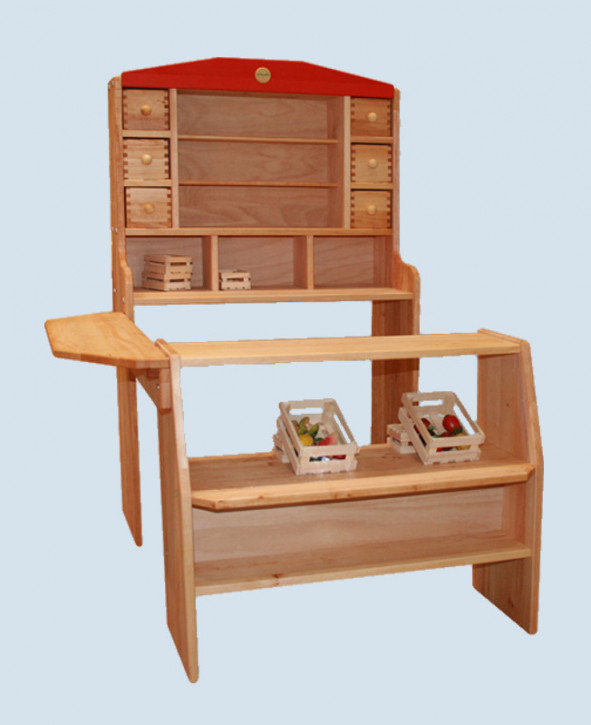 sch llner kaufladen optimus 2 kinderkaufladen holz maman et bebe. Black Bedroom Furniture Sets. Home Design Ideas