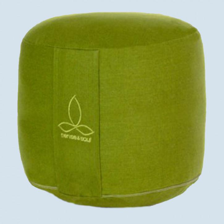 Sense & Soul - Yogakissen Rondo mega - Baumwolle, Bio, green