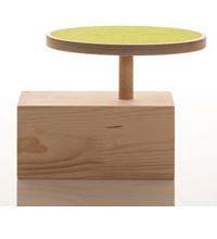 sirch hocker f r kinder claus mit filzauflage farbe gr n. Black Bedroom Furniture Sets. Home Design Ideas