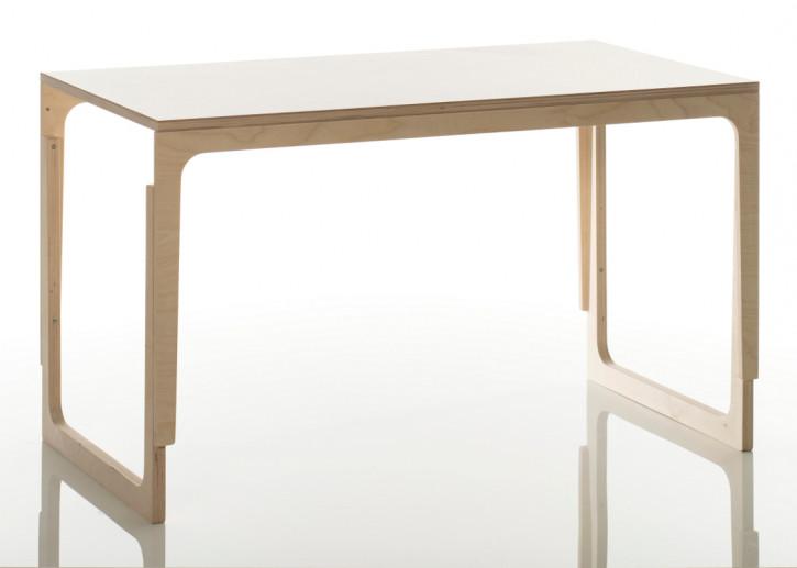sirch sibis vaclav - Schreibtisch für Kinder - höhenverstellbar, weiß