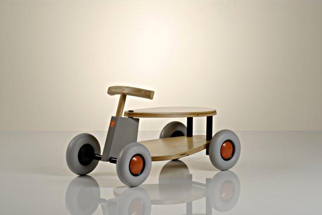 sirch sibis - Kinderfahrzeug, Rutscher Flix - Holz