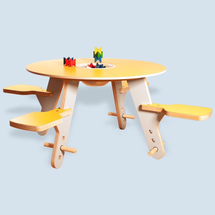 Timkid - Spieltisch tavi für Kinder aus Holz