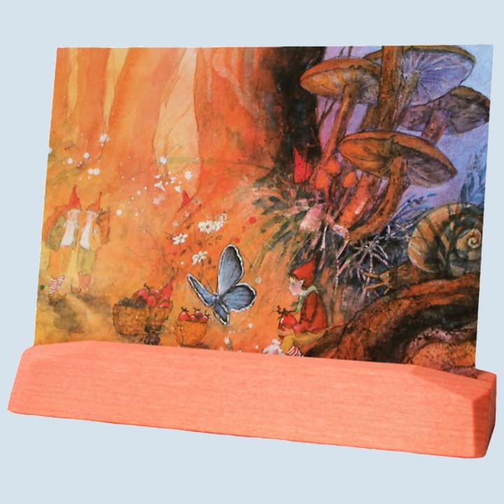 Decor - Post-, Kunstkartenständer, rotorange