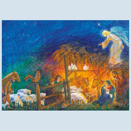 Postkarte - Weihnacht - Waldow Verlag