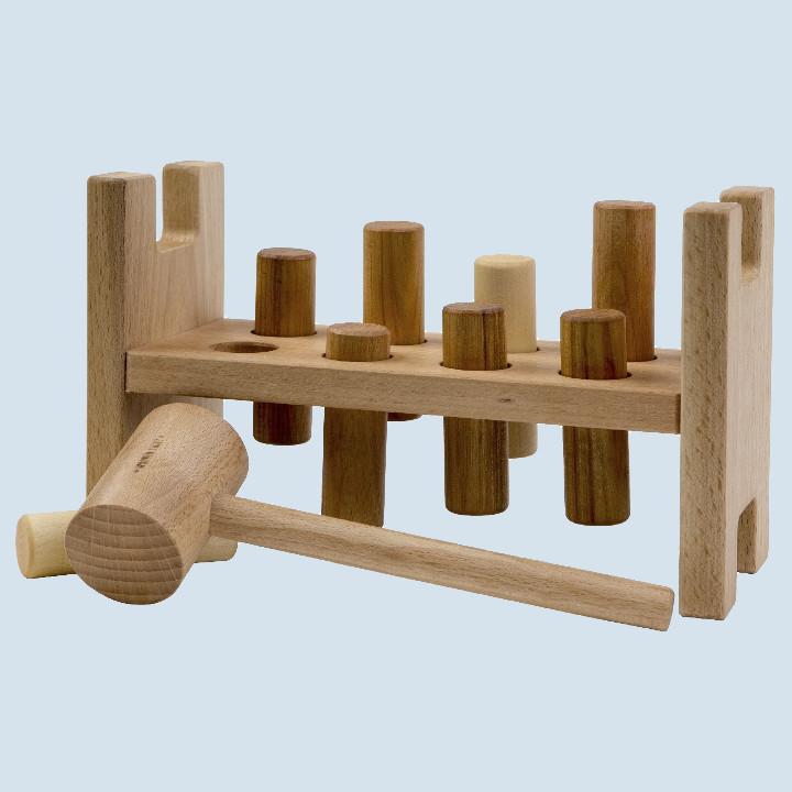 Wooden Story - Klopfspiel für Kinder aus Holz - natur