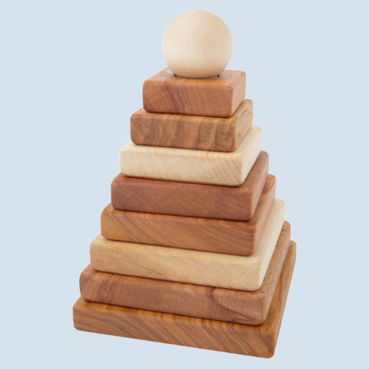 Wooden Story - Natural Pyramid, wood, eco