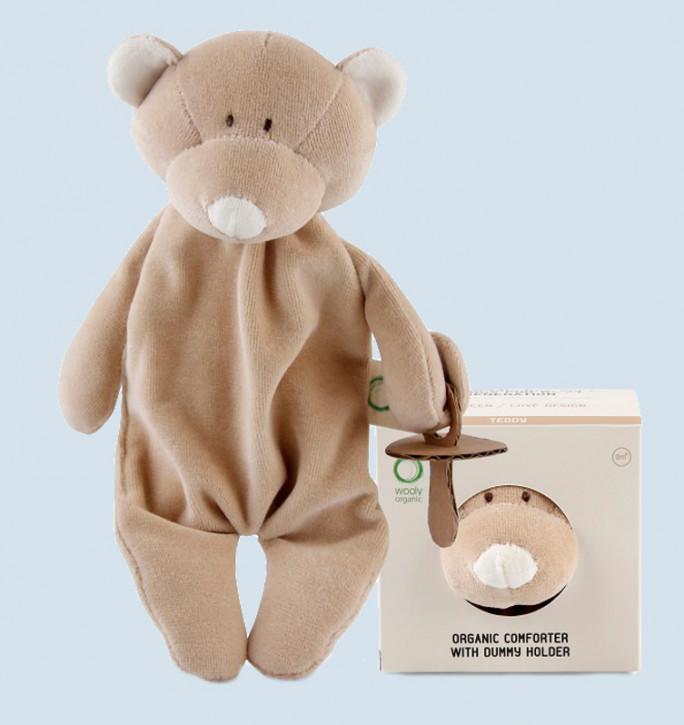 wooly organic - Schmusetier Bär, Teddy - Bio Baumwolle, Vegan