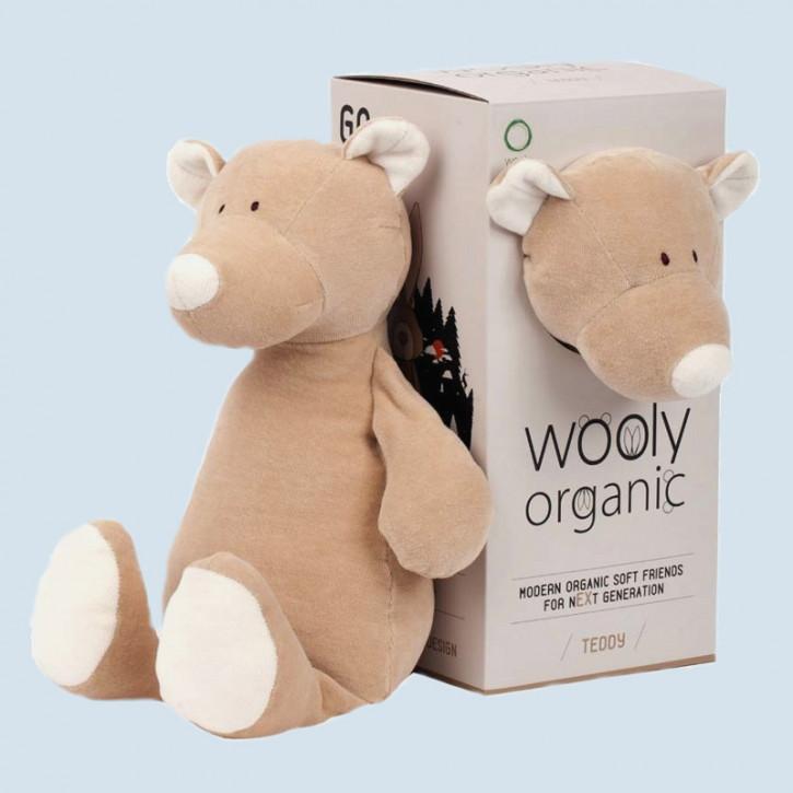 wooly organic - Kuscheltier Bär, Teddy - Bio Baumwolle, Vegan