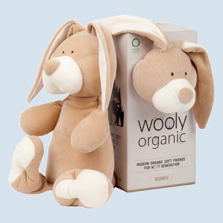 wooly organic - Kuscheltier Hase - Bio Baumwolle, Vegan
