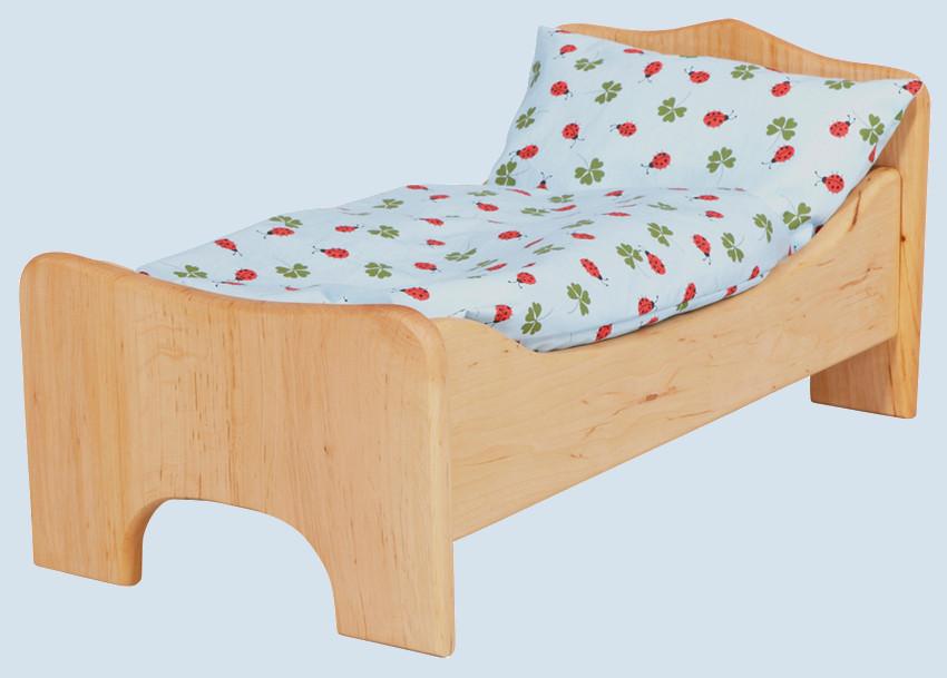 gl cksk fer puppenbett holz erle maman et bebe. Black Bedroom Furniture Sets. Home Design Ideas