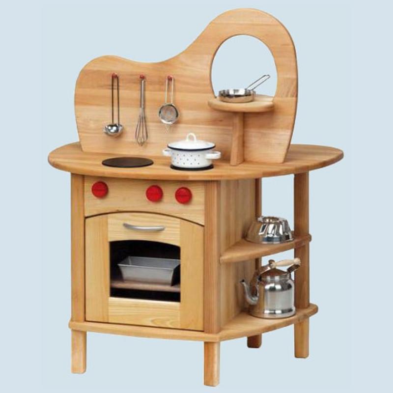 Glückskäfer - wooden Play Kitchen with top for children