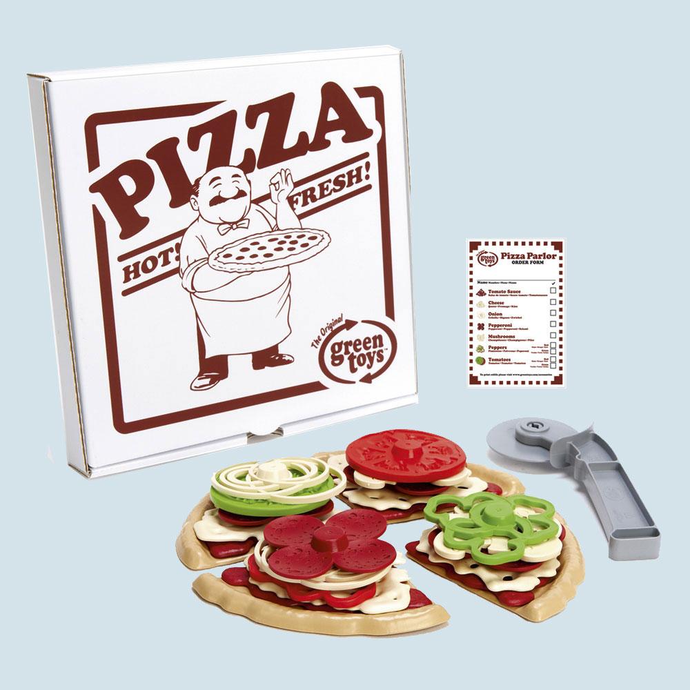 Glückskäfer Spielküche | Green Toys Spielset Pizza Fur Spielkuche Maman Et Bebe