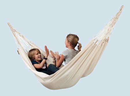 la siesta single h ngematte modesta latte baumwolle bio maman. Black Bedroom Furniture Sets. Home Design Ideas