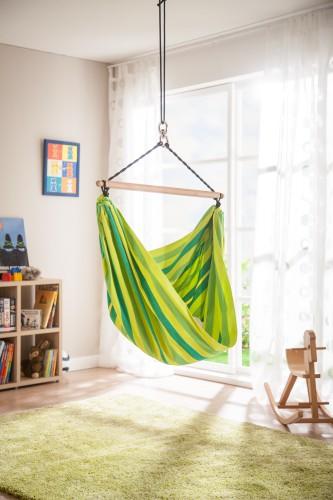 la siesta kinder h ngestuhl froggy baumwolle bio. Black Bedroom Furniture Sets. Home Design Ideas