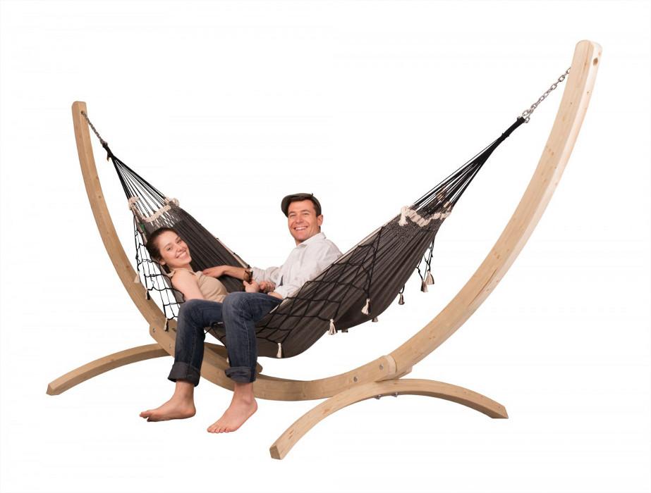 la siesta st nder f r doppel h ngematte canoa maman et bebe. Black Bedroom Furniture Sets. Home Design Ideas