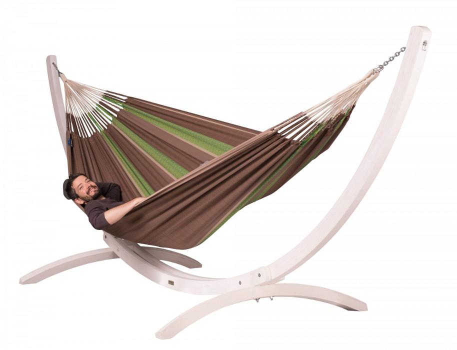 la siesta st nder f r familien h ngematte canoa wei. Black Bedroom Furniture Sets. Home Design Ideas