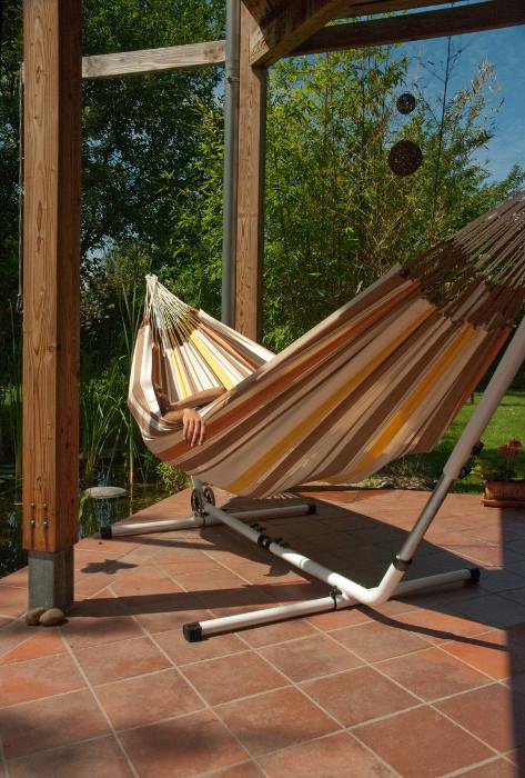 la siesta st nder f r h ngematte mediterraneo verstellbar. Black Bedroom Furniture Sets. Home Design Ideas