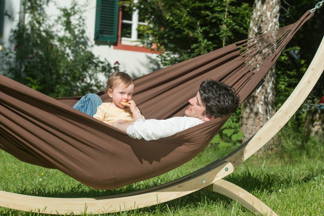 la siesta st nder f r single h ngematte canoa maman et bebe. Black Bedroom Furniture Sets. Home Design Ideas