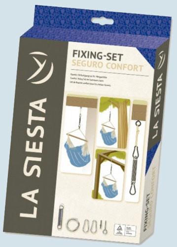 la siesta befestigungsset seguro comfort f r h ngest hle. Black Bedroom Furniture Sets. Home Design Ideas
