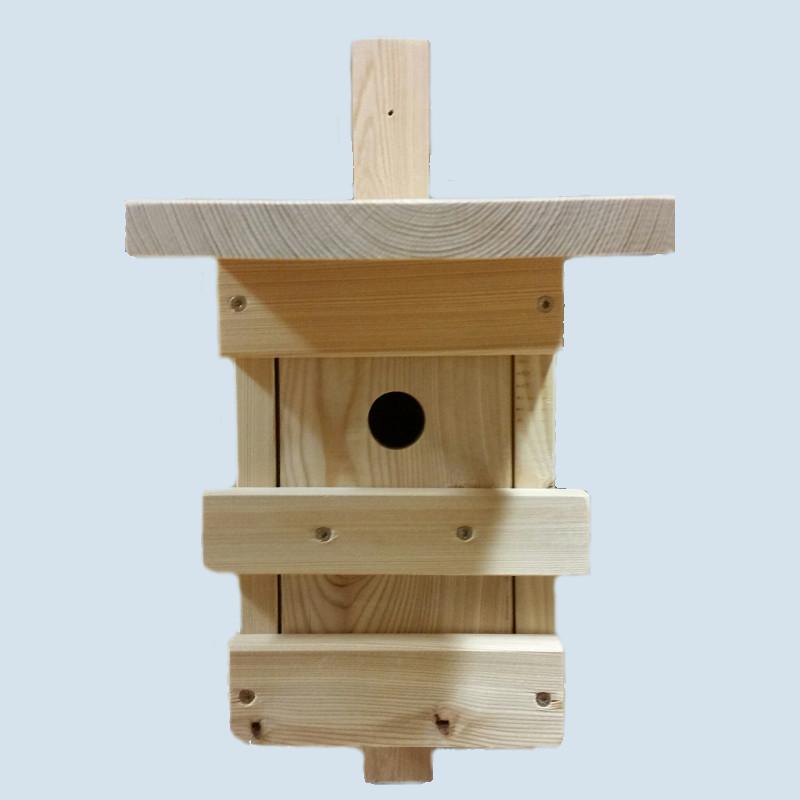 lammetal nistkasten vogelhaus kobel f r v gel holz. Black Bedroom Furniture Sets. Home Design Ideas