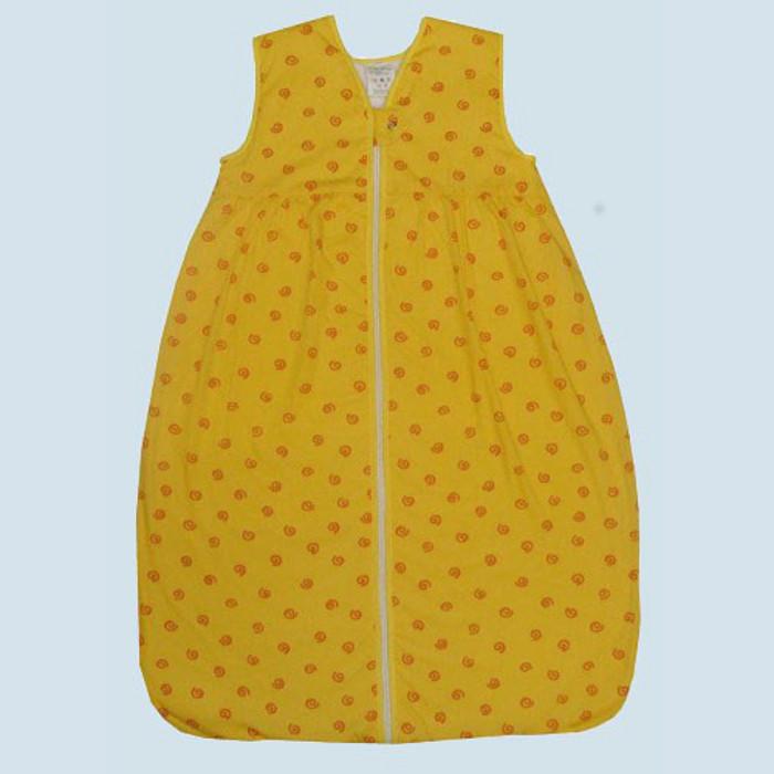 lana baby ganzjahres schlafsack baumwolle bio qualit t gelb. Black Bedroom Furniture Sets. Home Design Ideas