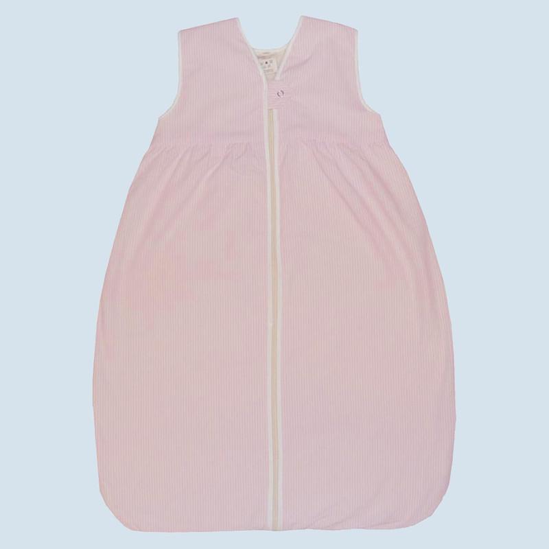 Delightful Lana   Baby Schlafsack Sommer Molton   Baumwolle Bio Qualität   Rosa, 120 Cm