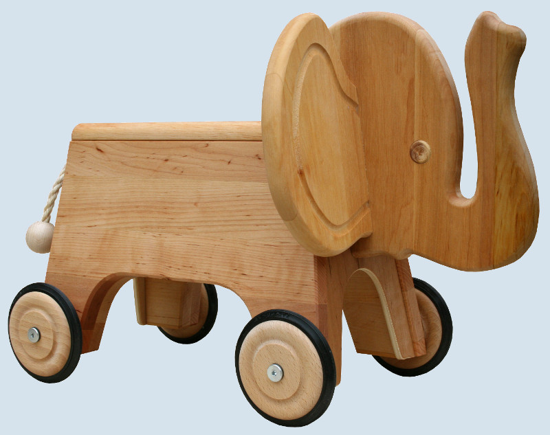 sch llner kinderfahrzeug rutscher elefant aus holz. Black Bedroom Furniture Sets. Home Design Ideas