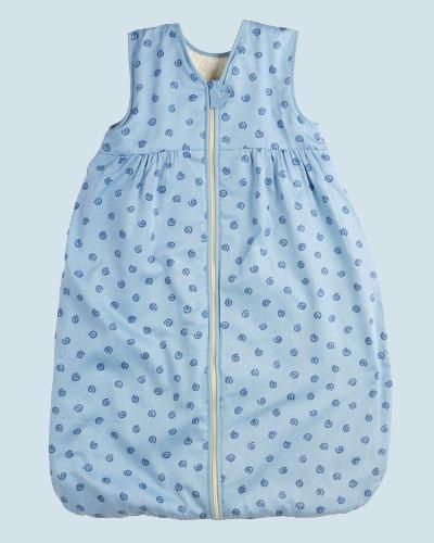 lana baby schlafsack sommer molton baumwolle bio qualit t blau 120 cm. Black Bedroom Furniture Sets. Home Design Ideas