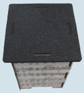 werkhaus zubeh r photohocker filzauflage made in germany. Black Bedroom Furniture Sets. Home Design Ideas
