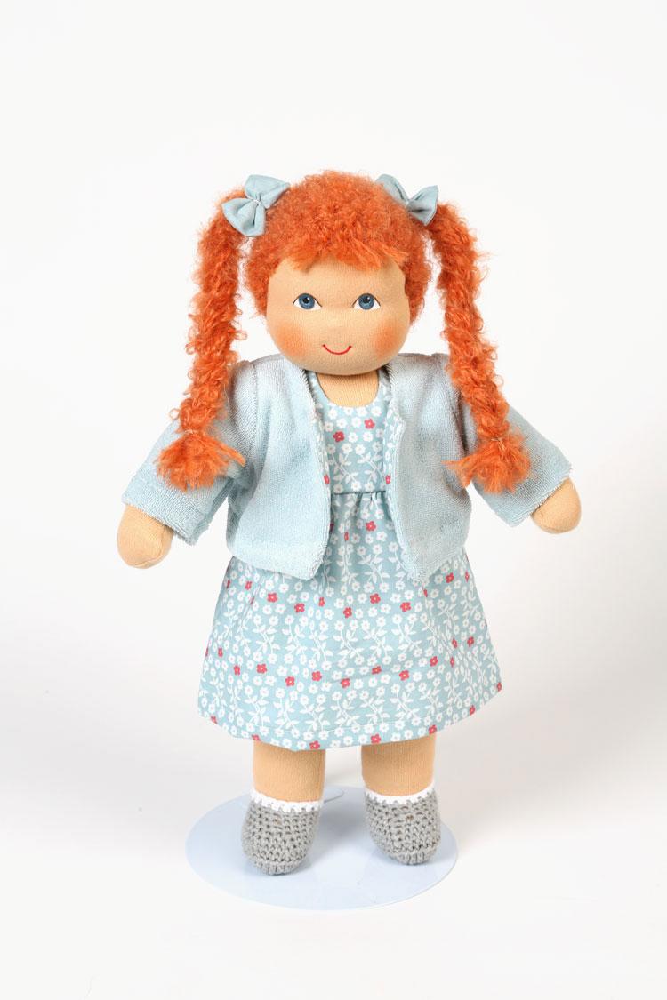 Heidi Hilscher Bio Puppe Schlenkerpuppe Charlotte öko Maman Et