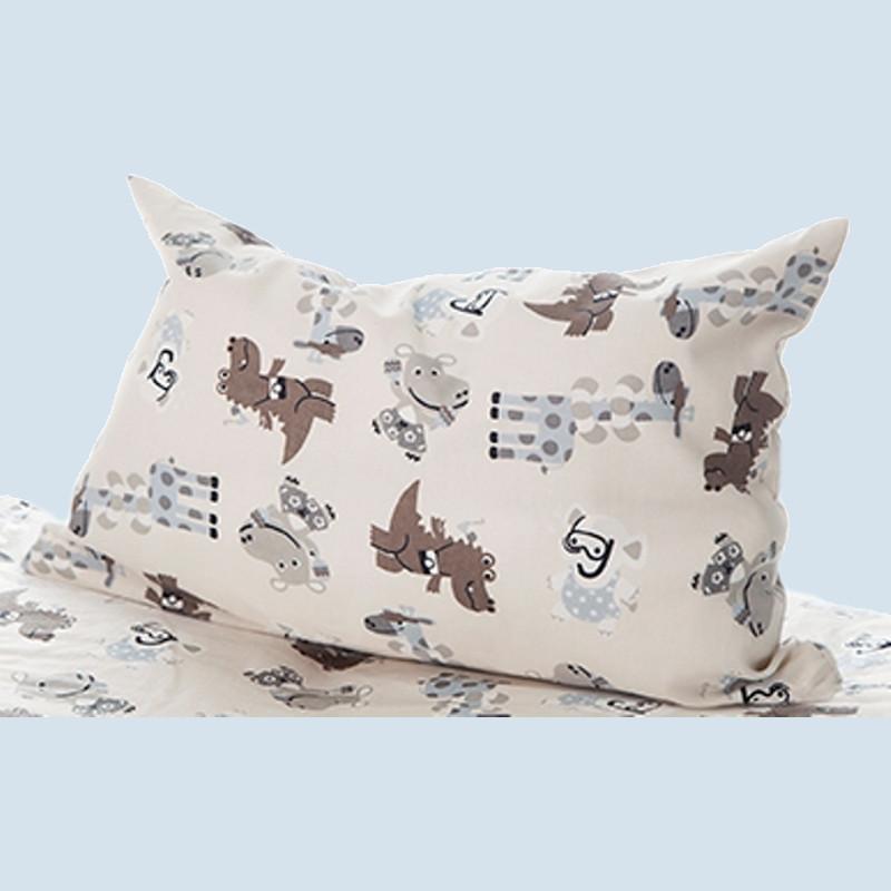 mudis kinderbett kissenbezug happy child baumwolle. Black Bedroom Furniture Sets. Home Design Ideas