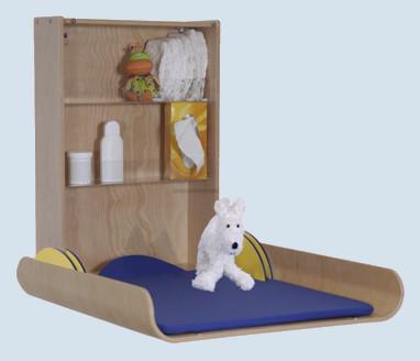 timkid wickeltisch kawaform buche wandmontage seitenh he 10 cm. Black Bedroom Furniture Sets. Home Design Ideas