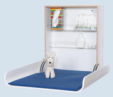 timkid wickeltisch kawaform wei wandmontage maman. Black Bedroom Furniture Sets. Home Design Ideas