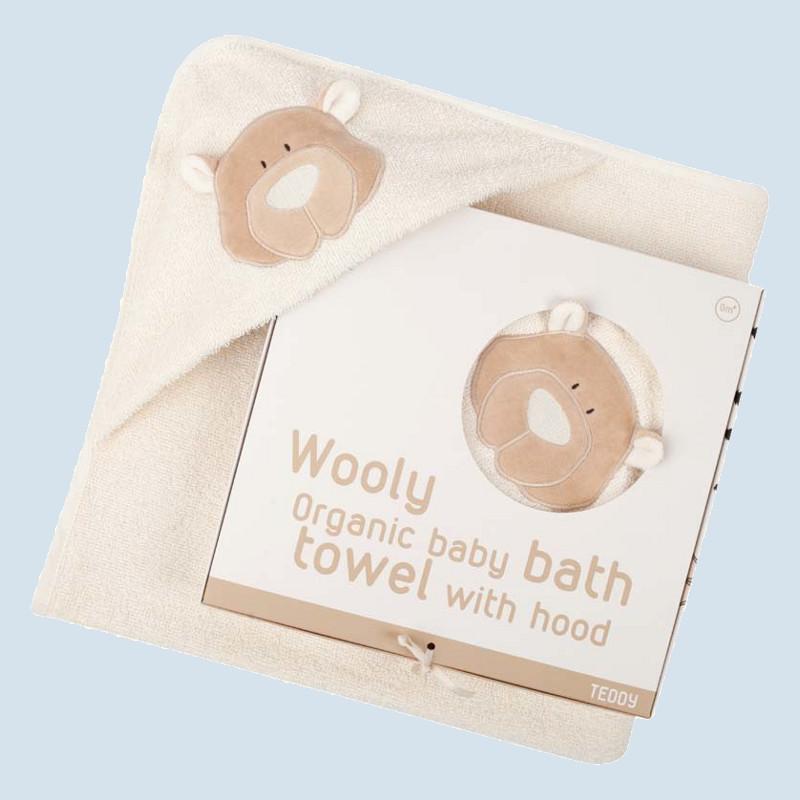 wooly organic badetuch f r babys b r baumwolle bio qualit t. Black Bedroom Furniture Sets. Home Design Ideas